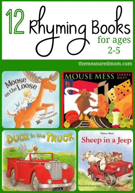 picture books for preschoolers rhyming books for toddlers preschoolers the measured