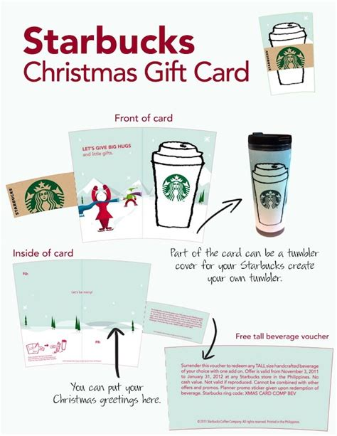 how to make a starbucks card starbucks gift card image search results