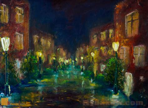 paint nite cities city landscape original painting by