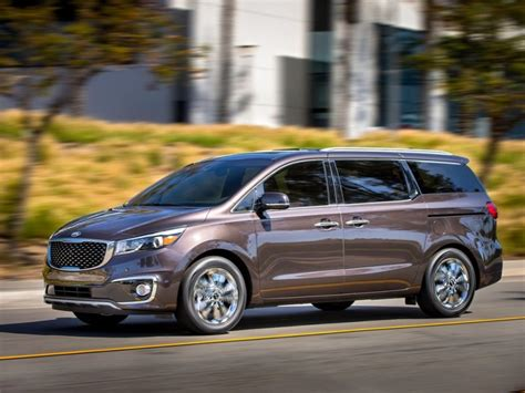 Led Back Splash 10 things you need to know about the 2015 kia sedona