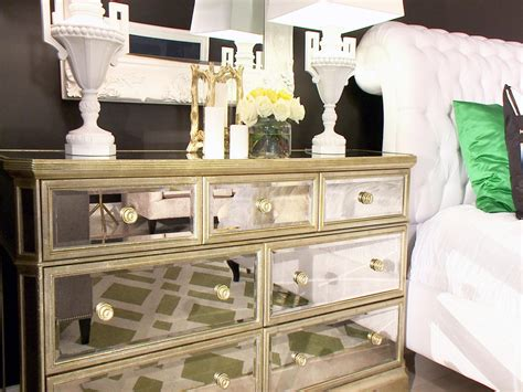 mirrored bedroom dresser photo page hgtv