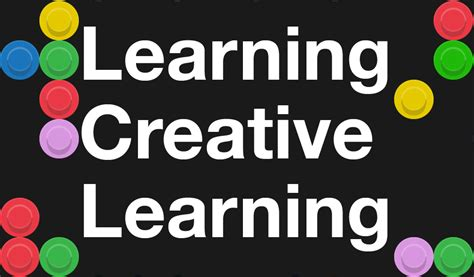 lifelong kindergarten cultivating creativity through projects peers and play mit press learning creative learning