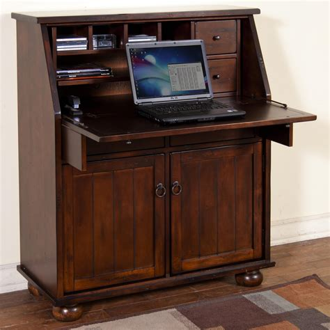 drop leaf computer desk drop leaf laptop desk armoire by designs wolf and