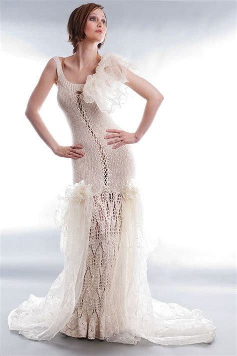 knit wedding dress 96 best knitted wedding dresses images on knit