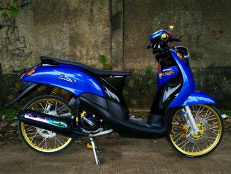 Thailook Style Modifikasi by Kumpulan Gambar Modifikasi Yamaha Fino Thailook Style