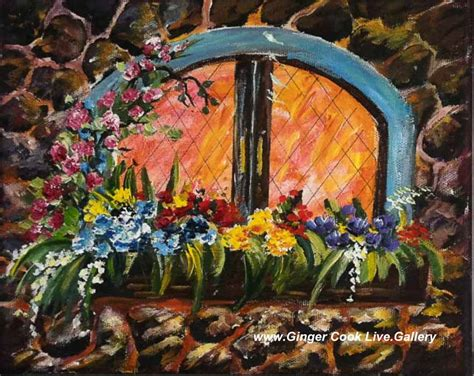 painting lessons flowers window box with flowers part 1 of 2 acrylic painting