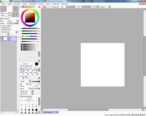 paint tool sai v1 2 2 painttoolsai v1 2 2 brushes textures rickybimo