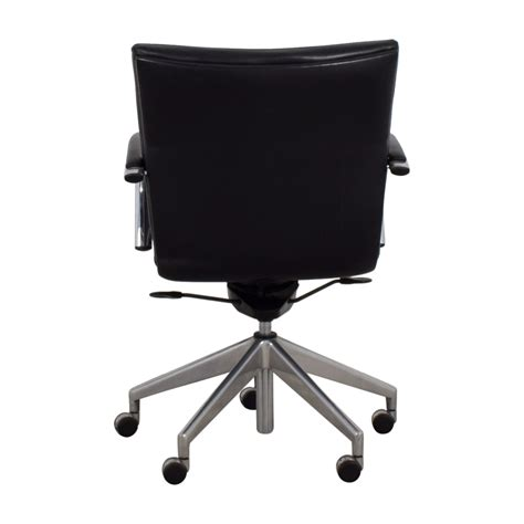 Black Leather Desk Chair by 61 Black Leather Desk Chair Chairs