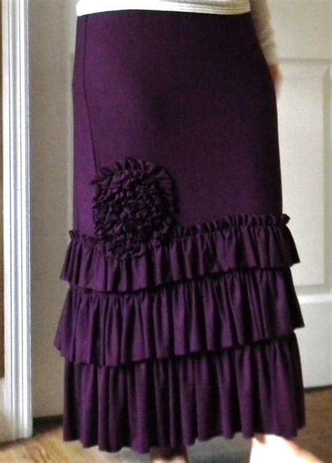 knit ruffle skirt ruffle knit skirt apostolic pentecostal clothing