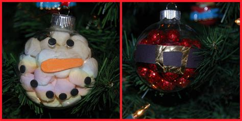 handmade snowman ornaments snowman and santa handmade ornament crafts for the