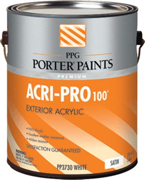 Acri Pro 174 Acrylic Paint From Ppg Porter Paints 174