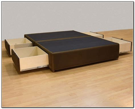 wood bed frames with headboard brown oak wood storage bed frame without headboard of