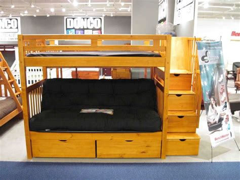 bunk bed with futon bottom best 25 futon bunk bed ideas on loft bed