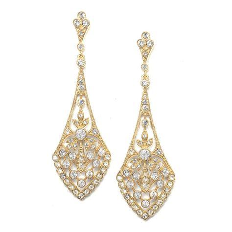 jewelry earrings dramatic earrings vintage inspired wedding jewelry