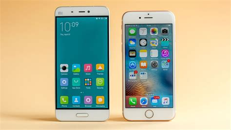 xiaomi mi5 xiaomi mi 5 vs iphone 6s comparison apples to apples