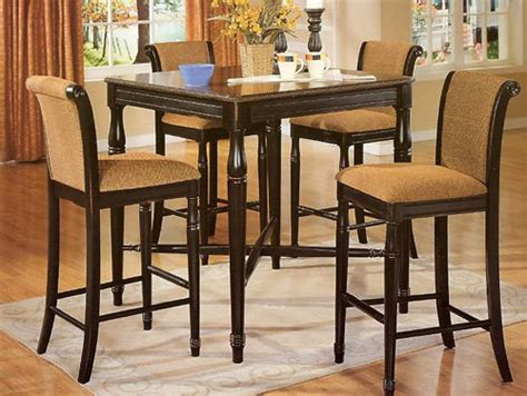 kitchen high table and chairs high top kitchen tables myideasbedroom
