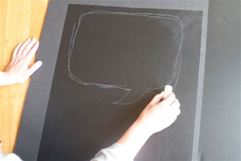 diy chalkboard talk diy chalkboard talk bubbles
