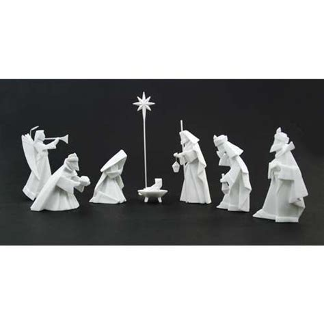 origami nativity set nativity sets origami and paper on