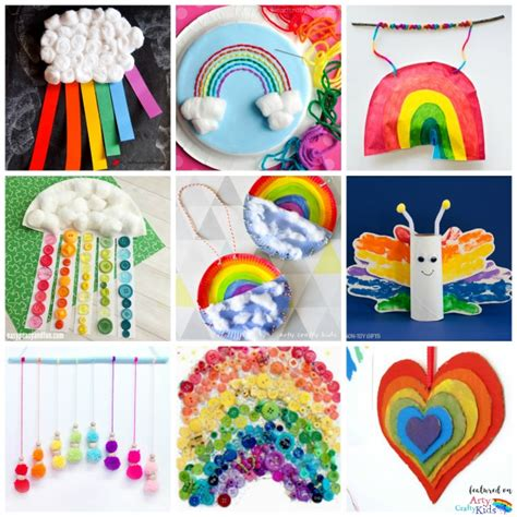 rainbow craft for 22 rainbow crafts arty crafty