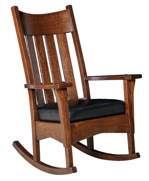 Chair Rocker by Artisan Mission Rocker Amish Direct Furniture