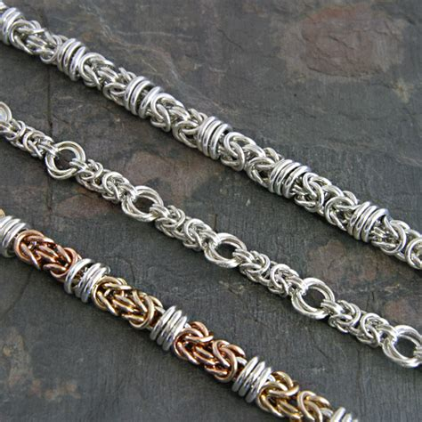 how to make chainmaille jewelry intermediate wire beading chainmaille