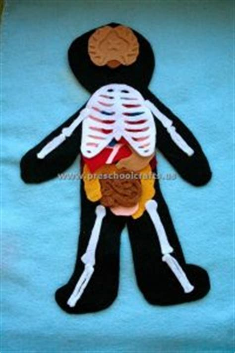 human crafts for skeleton crafts ideas for kindergarten and preschool