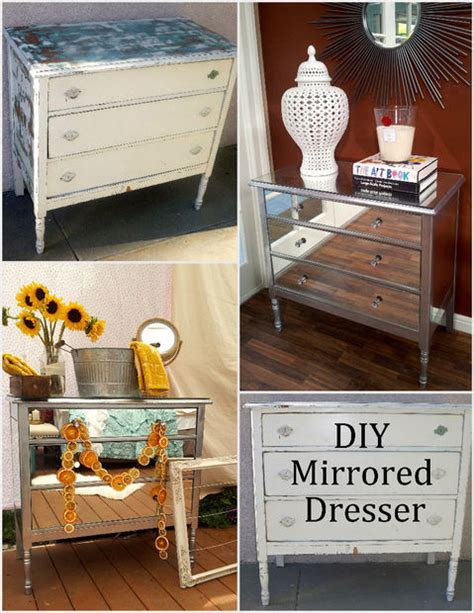 dresser diy diy mirrored dresser