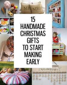 presents to make 15 handmade gifts to start now