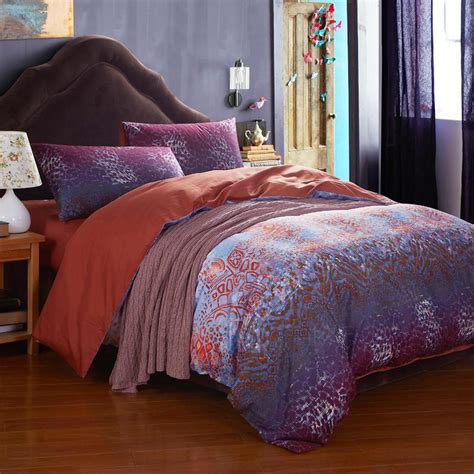 boho comforter set purple boho comforter sets needs selection atzine