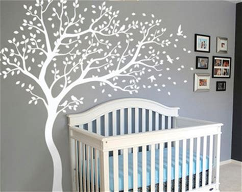 Nursery Tree Wall Stickers Uk wall decals amp murals etsy