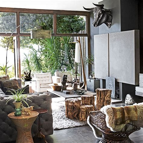 jungle themed room open plan living room ideas to inspire you ideal home