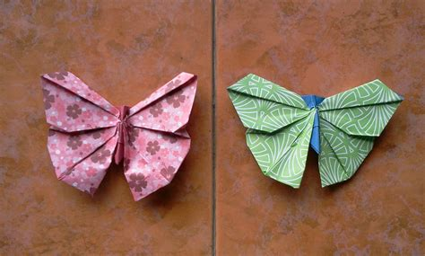 origami butterfly tutorial how to make origami butterfly