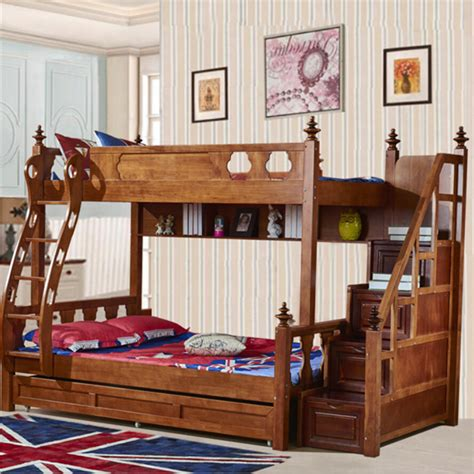 bunk style beds webetop american country style bunk bed bed