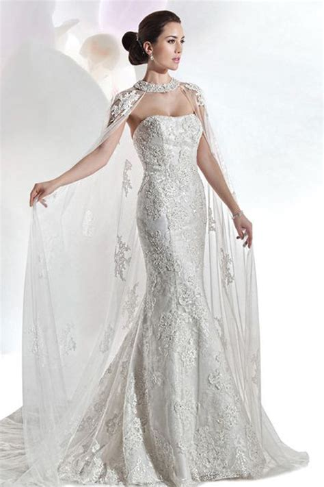 dress for a 14 cape wedding dresses for a trendy and new bridal look
