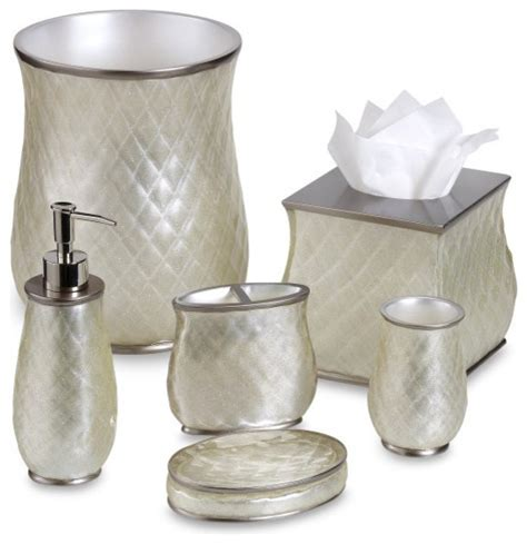 miller bathroom accessories miller sparkle bath ensemble traditional