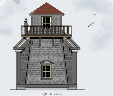 lighthouse floor plans lighthouse house plans with tower lighthouse drawings and