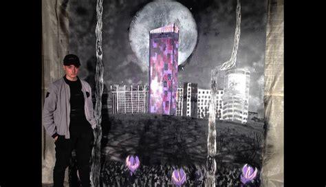 spray painter croydon student commissioned for croydon bid project