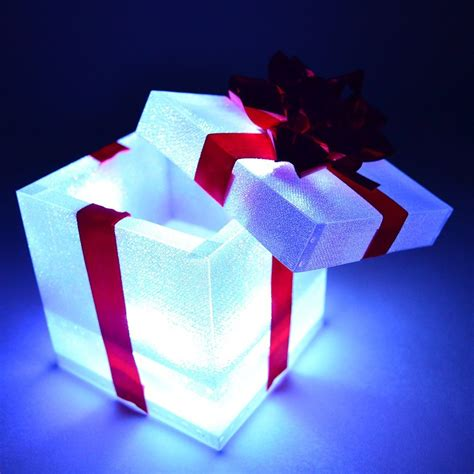 light up gift box decoration 30 best outside light ideas for 2017