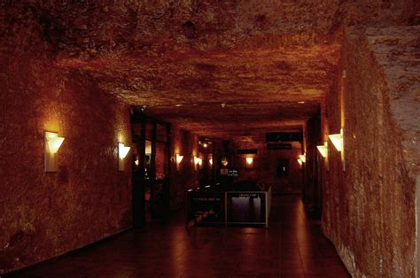 underground hotel right around we go may 2010