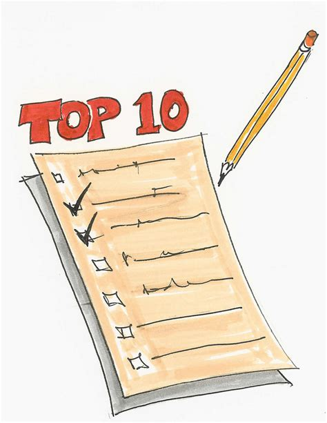 best list top 10 list