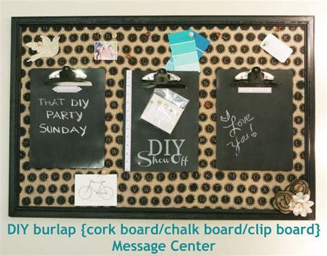 diy chalkboard cork board 25 unique burlap cork boards ideas on burlap