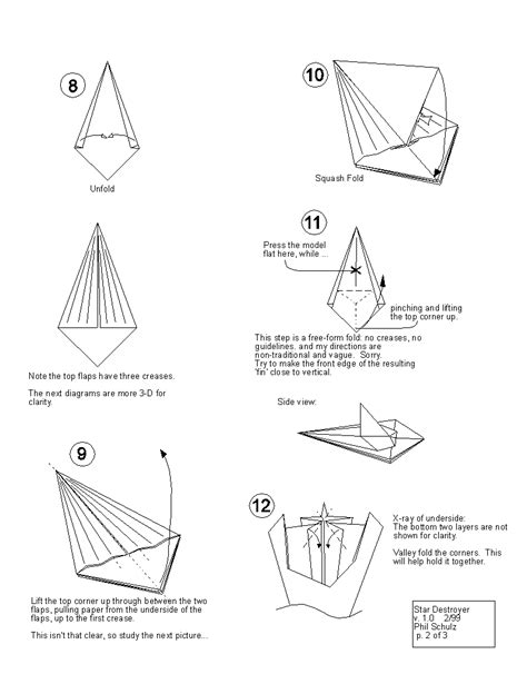 how to make origami wars ships wars origami