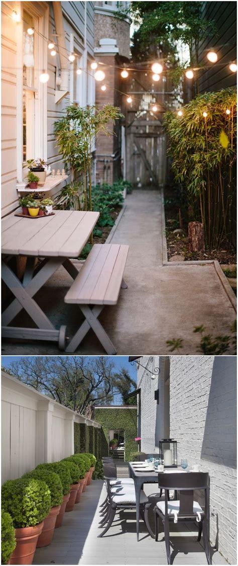 narrow backyard design ideas 25 best narrow backyard ideas on small garden