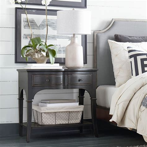 home design studio bassett hgtv home design studio classics by bassett leg nightstand