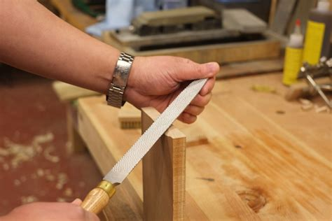 shaping tools woodworking how to use a rasp to shape wood