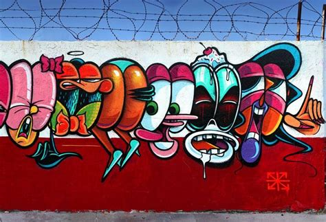Mural Wallpaper For Walls graffiti rime painted a long wall in miami with 50