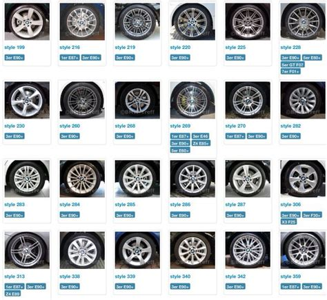 Bmw Styles by Bmw Wheel Styles Pictures To Pin On Pinsdaddy