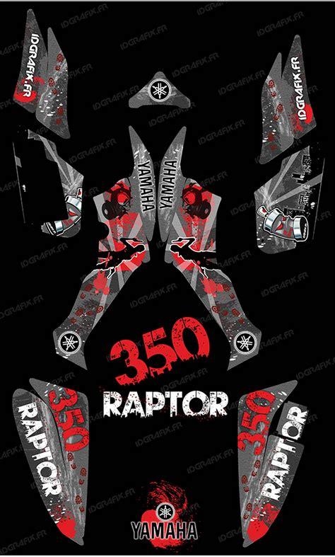 kit decoration survivor grey idgrafix yamaha 350 raptor idgrafix