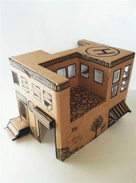 how to make a small house 5 amazing toys you can make with cardboard stables toys