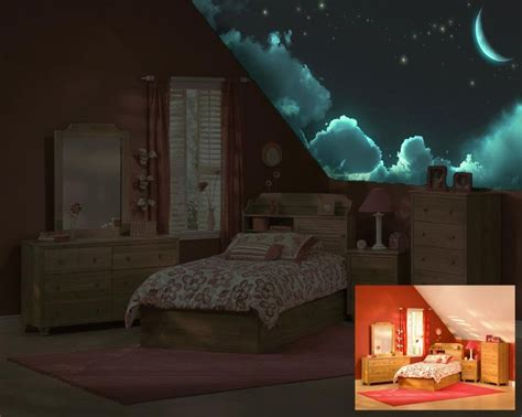 how to paint your room glow in the glow in the ceiling murals before after modern